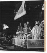 Sun Ra Arkestra At The Red Garter 1970 Nyc 11 Wood Print