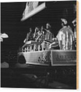 Sun Ra Arkestra At The Red Garter 1970 Nyc 18 Wood Print