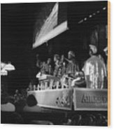 Sun Ra Arkestra At The Red Garter 1970 Nyc 19 Wood Print
