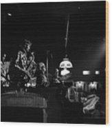 Sun Ra Arkestra At The Red Garter 1970 Nyc 21 Wood Print