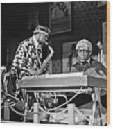 Sun Ra Arkestra At The Red Garter 1970 Nyc 3 Wood Print