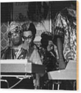 Sun Ra Arkestra At The Red Garter 1970 Nyc 36 Wood Print