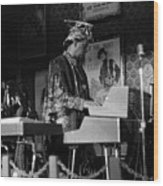 Sun Ra Arkestra At The Red Garter 1970 Nyc 38 Wood Print
