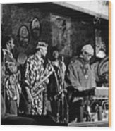 Sun Ra Arkestra At The Red Garter 1970 Nyc 4 Wood Print
