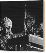 Sun Ra Arkestra At The Red Garter 1970 Nyc 7 Wood Print