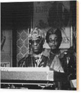 Sun Ra Arkestra At The Red Garter 1970 Nyc 8 Wood Print