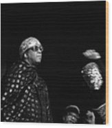 Sun Ra Wood Print