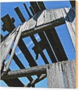 Sun Roof Wood Print