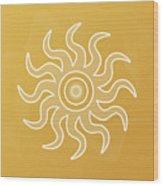 Sun Salutation Wood Print
