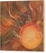 Sun Spot Wood Print