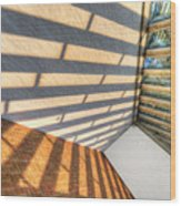 Sun Struck Wood Print