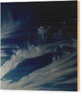 Sun Swirl Wood Print