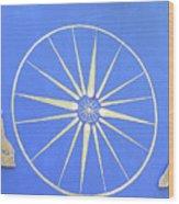 Sun Wheel Wood Print