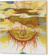 Sun1 Wood Print