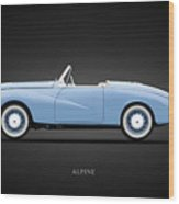 Sunbeam Alpine Sport 1953 Wood Print