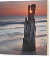 Suncrack Wood Print