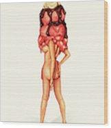 Sundae Best IIi Wood Print