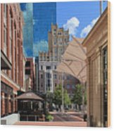 Sundance Square 5484mx Wood Print