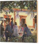 Sunday At The Alameda Wood Print