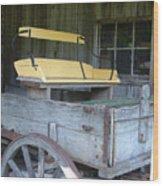 Sunday Cruiser Wood Print