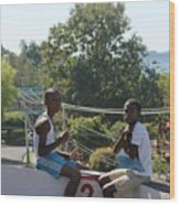 Sunday Morn Wood Print