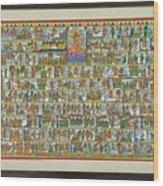 Sunder Kand- Ramayana Phad Wood Print