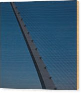 Sundial Bridge 2 Wood Print