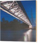 Sundial Bridge 4 Wood Print