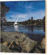Sundial Bridge Wood Print
