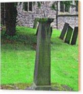 Sundial In St Leonard's Churchyard - Thorpe Wood Print