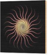 Sundroid Wood Print