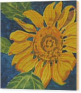 Sunflower - Mini Wood Print