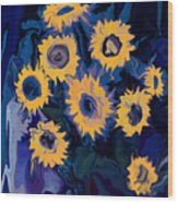 Sunflower 1 Wood Print