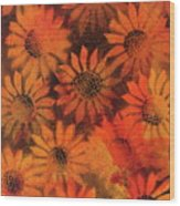 Sunflower Field 1.2 Wood Print