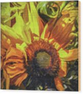 sunflower No. 1 Wood Print