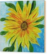 Sunflower Sunshine Of Your Love Wood Print
