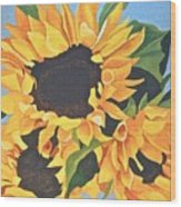 Sunflowers #3 Wood Print
