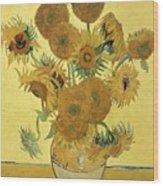 Sunflowers, 1888  Wood Print