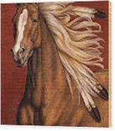 Sunhorse Wood Print