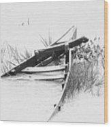 Sunk Wood Print