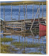 Sunken Treasure Wood Print