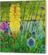 Sunlight At Kew Gardens Wood Print