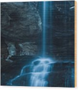 Window Falls Wood Print