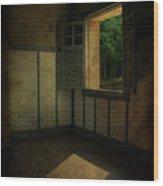 Sunlight Onto The Floor  Wood Print