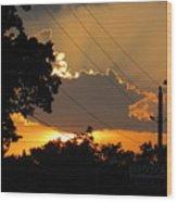 Sunlit Heaven's Wood Print
