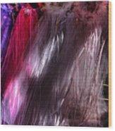 Sunlit Veils  Wood Print