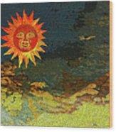 Sunny 1 Wood Print