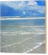 Sunny Beach Wood Print