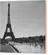 Sunny Day In Paris Wood Print by Kamil Swiatek
