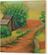 Sunny Horizons Wood Print